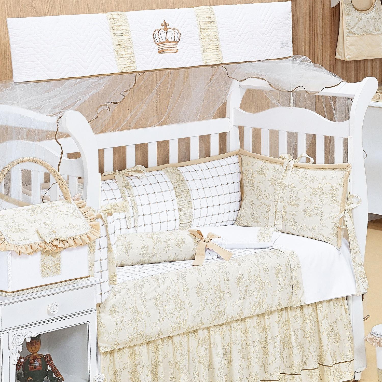 O berço no quarto pequeno de bebê e dicas para ampliar o ambiente