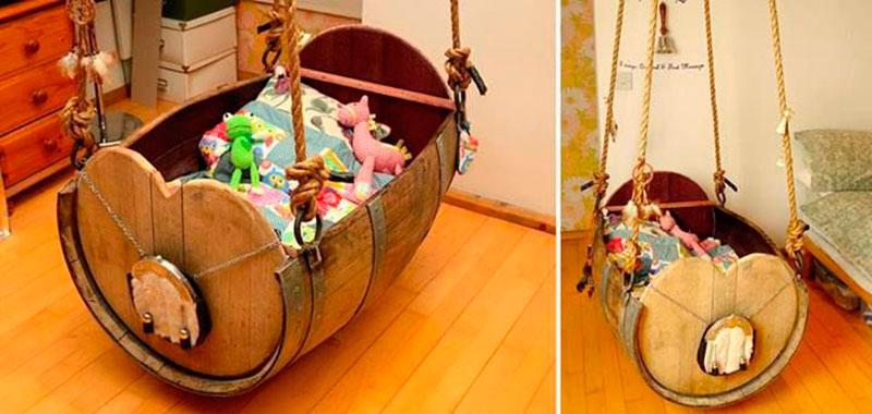 berços criativos - barril