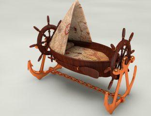 Berços Criativos - navio