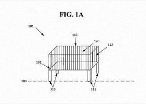 berço inteligente: imagem da patente