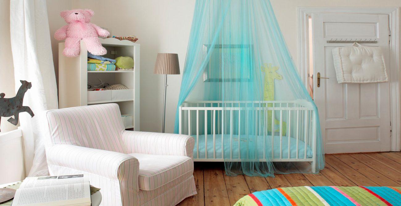 Mosquiteiro para o quarto de bebe