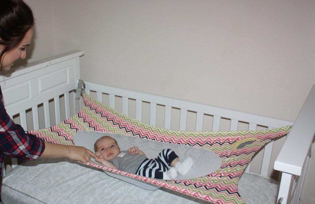 rede para berço crescent womb