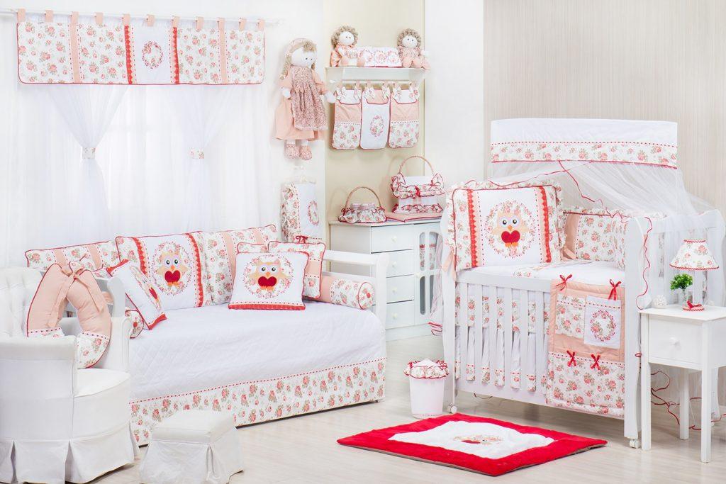 quarto para bebê Corujas