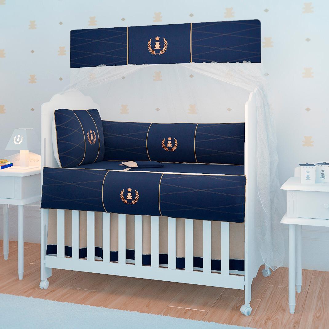 Quarto De Beb Realeza Marinho Inspira O De Enxoval Para Meninos ~ Decoracoes De Quarto De Bebe E Organizar Quarto Pequeno