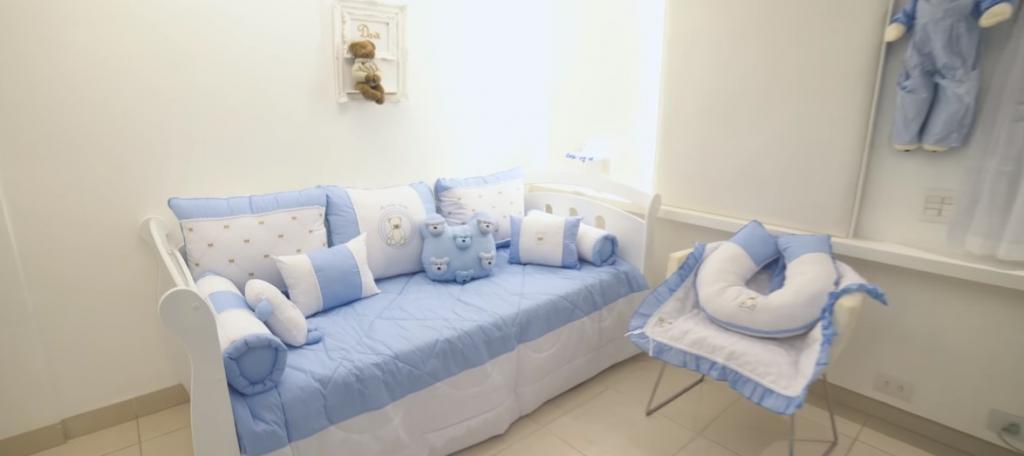 quarto de bebê do Davi, filho do Jorge, da dupla Jorge e Mateus