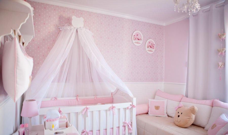 quarto de bebê de princesa