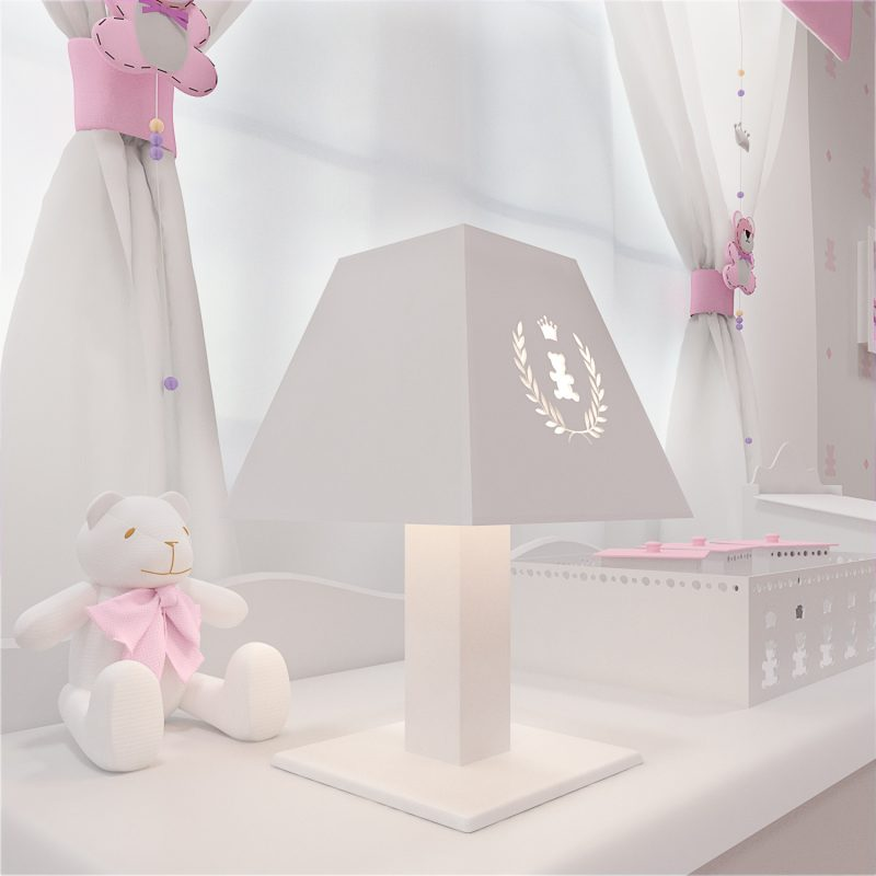 quarto de bebê Realeza Premium - Kit acessórios