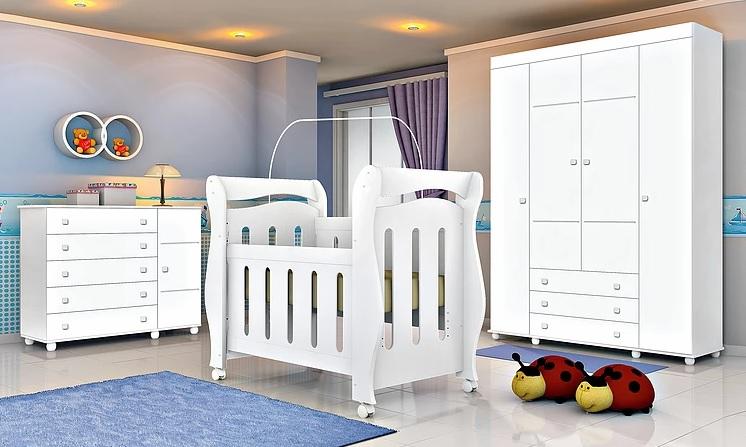 O Berco Mini Cama 3 Em 1 Chamego Tem Design Diferenciado Com Grades Usinadas No Quarto De Bebe