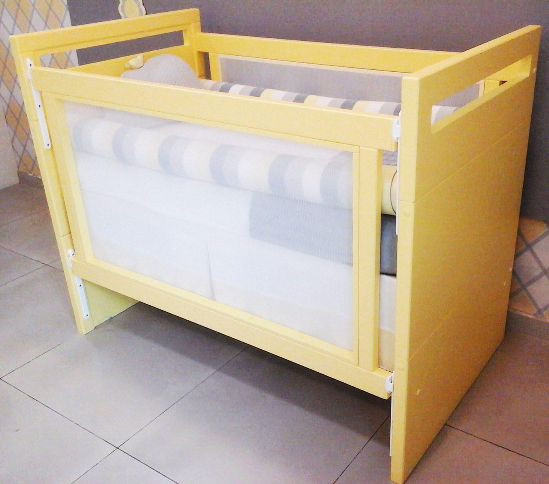 Berço amarelo garante quarto versátil e aconchegante Berço #A88823 1360x1200