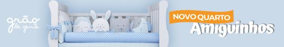 Novo quarto para bebê Amiguinhos - Grão de Gente