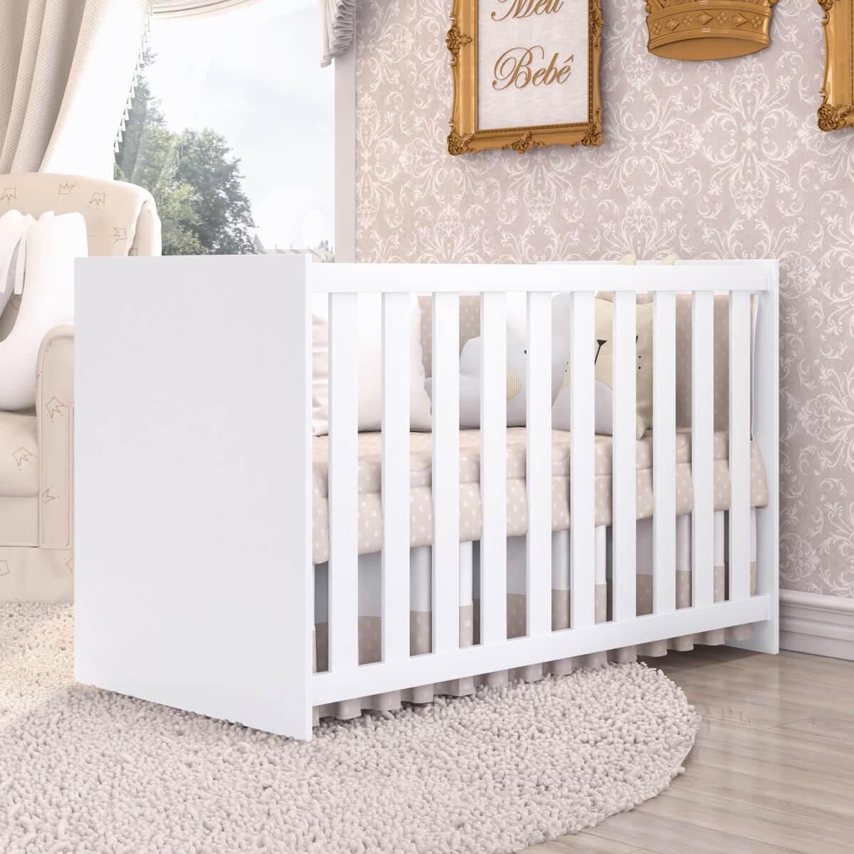 quartos de bebê compactos berço clean