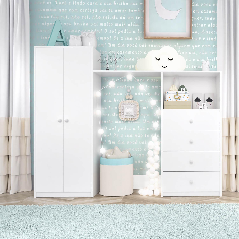 quartos de bebê compactos kit