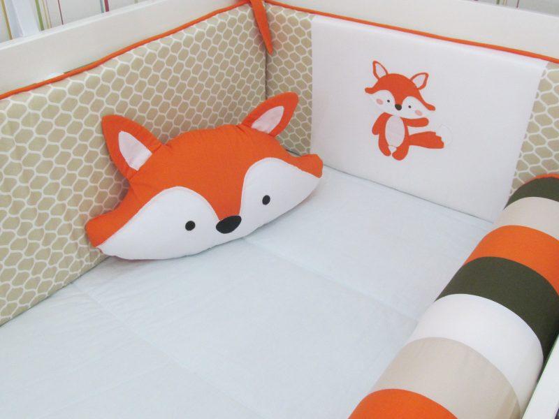 kit berço de raposa