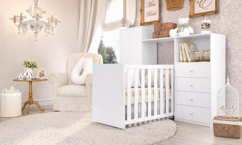 quartos de bebê compactos Clean