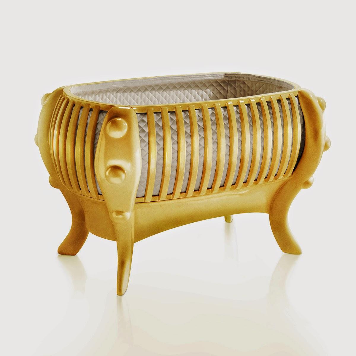 berço dourado