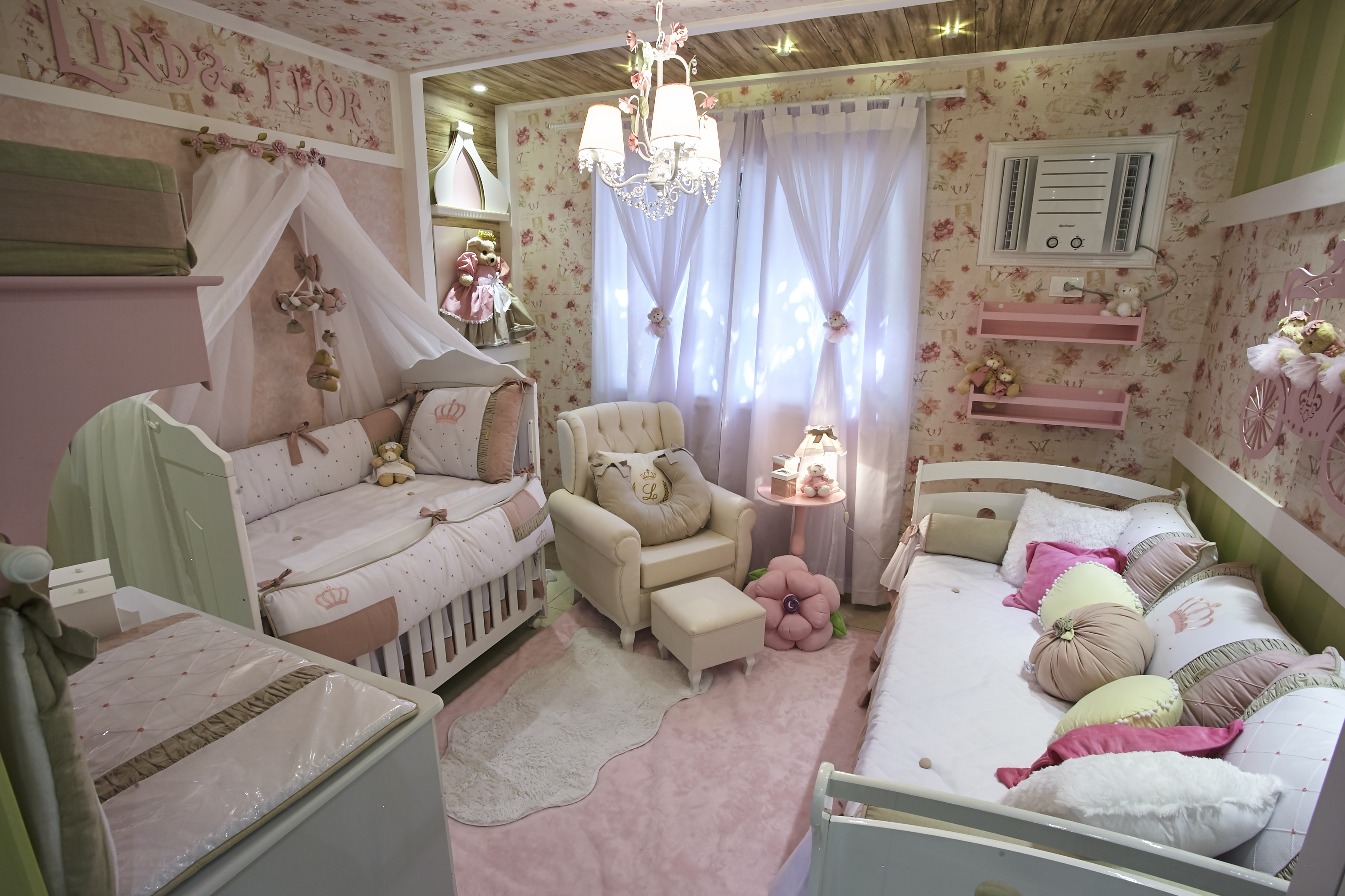 quartos de bebê dos famosos