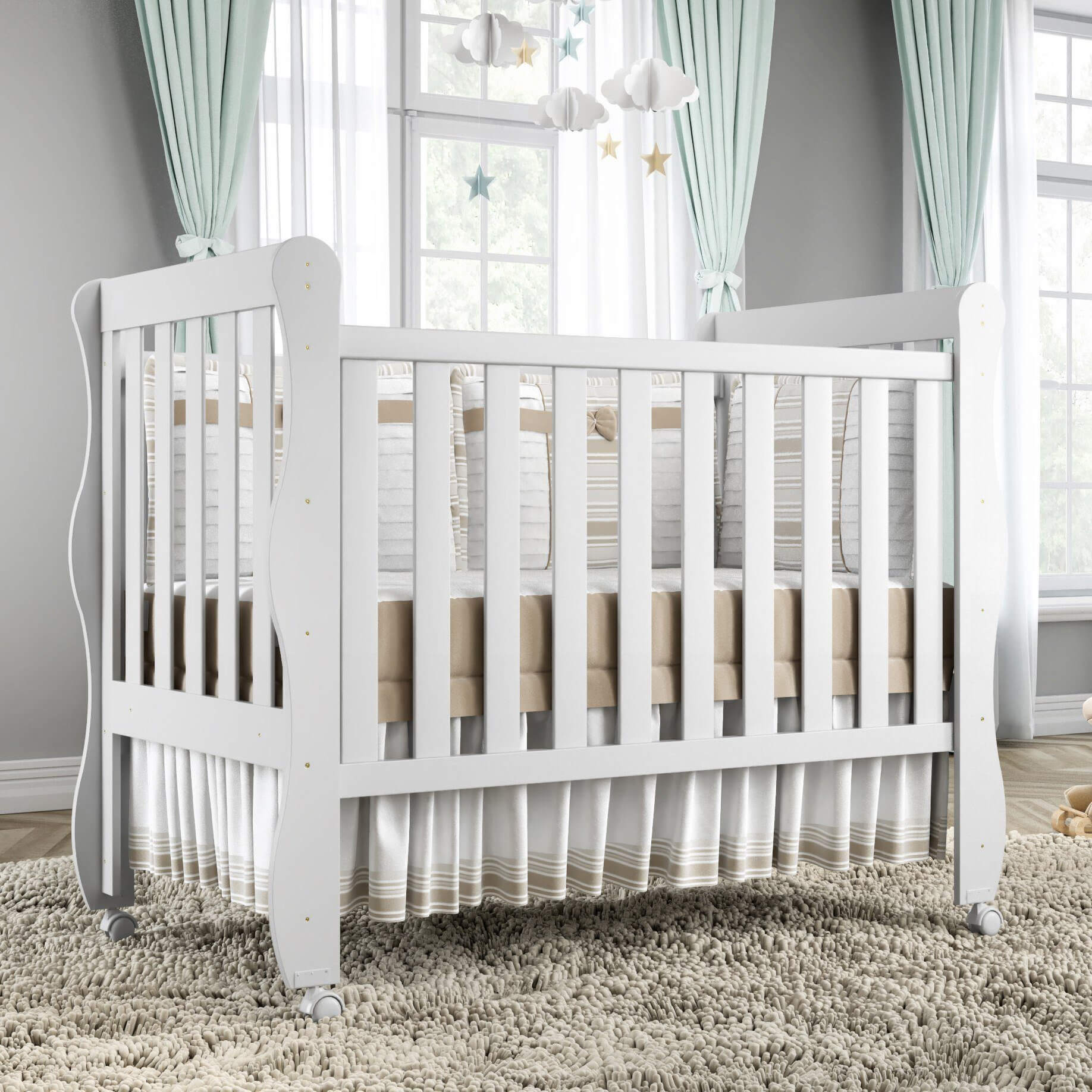 quarto de bebê barato