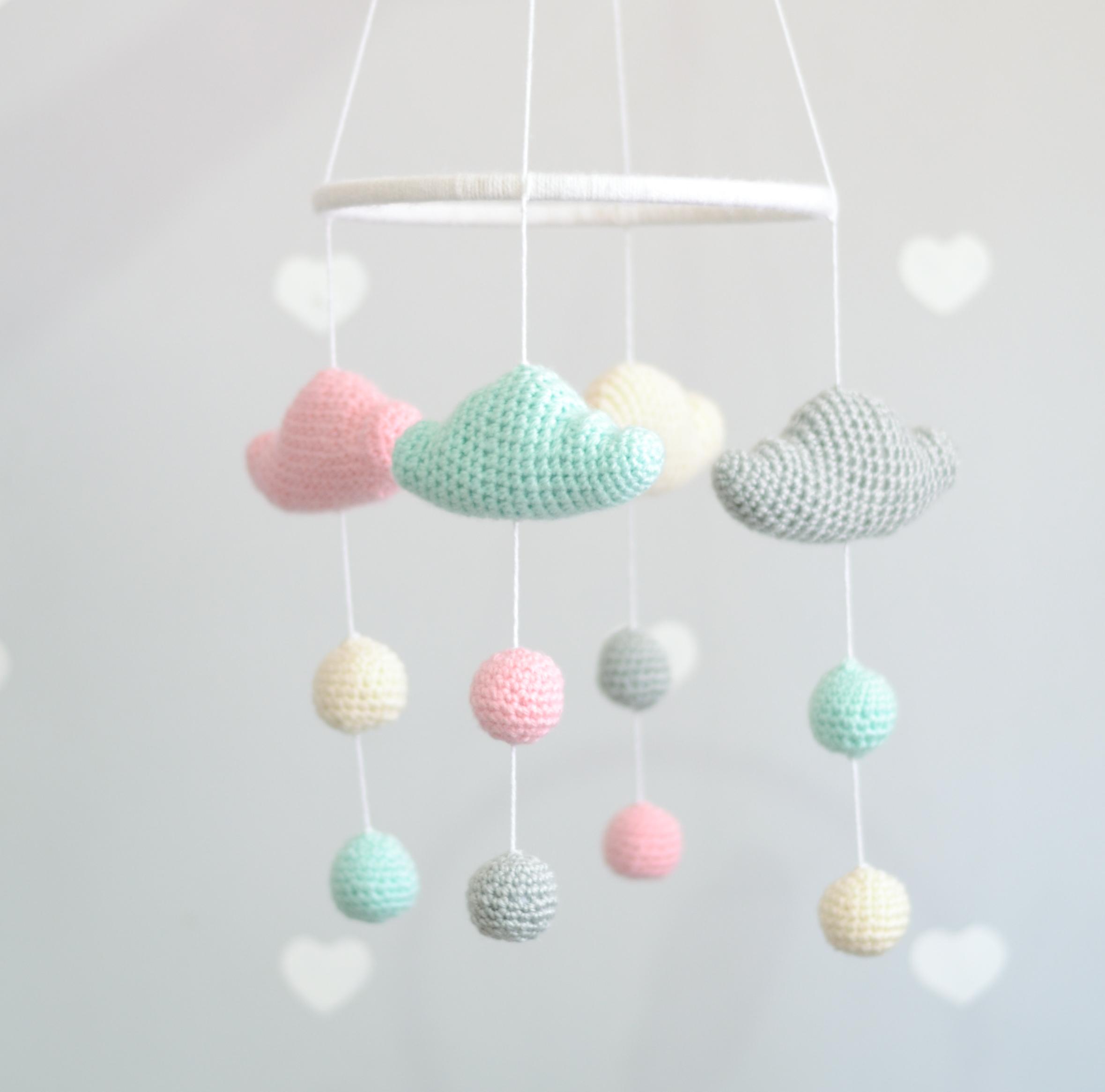Receita de Amigurumi - almofada de nuvem de crochê fofinha ... | 2330x2359