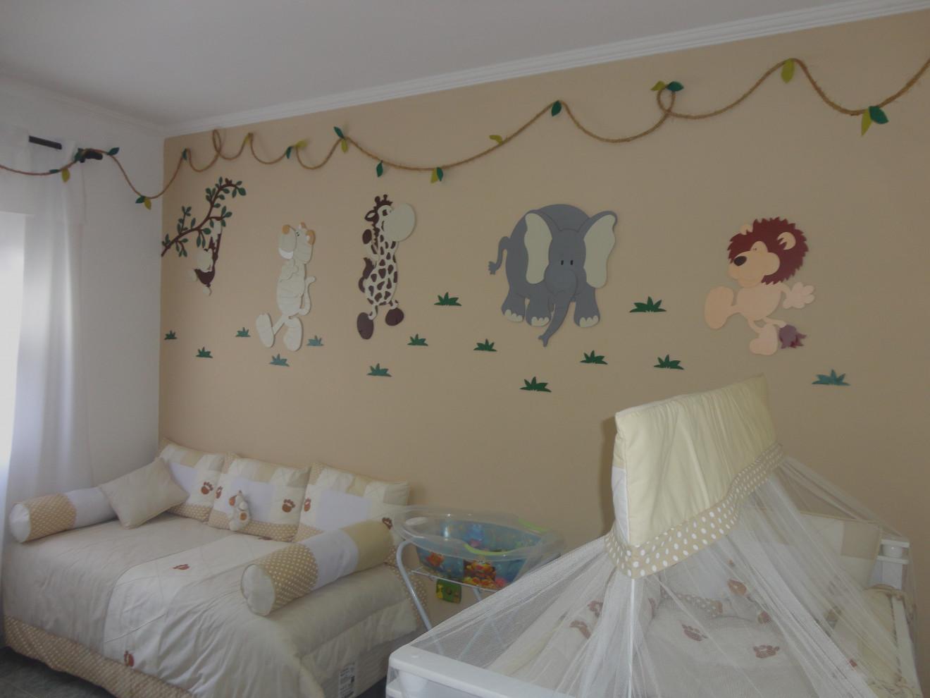 Quarto Safári traz proposta lúdica e alegre para decoraç u00e3o -> Decoração De Quarto De Bebê Ovelhinhas