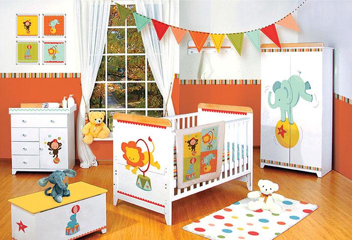 quarto de bebê bichinhos