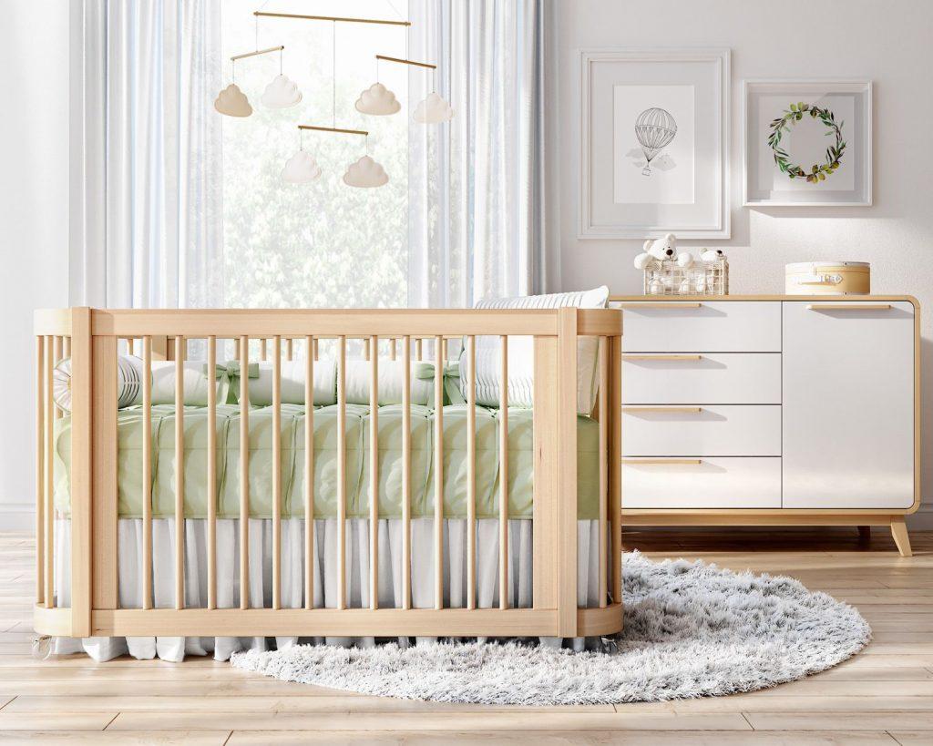 quadros no quarto de bebê